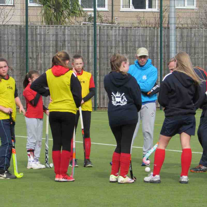 U14 Girls training - 5 March 2017