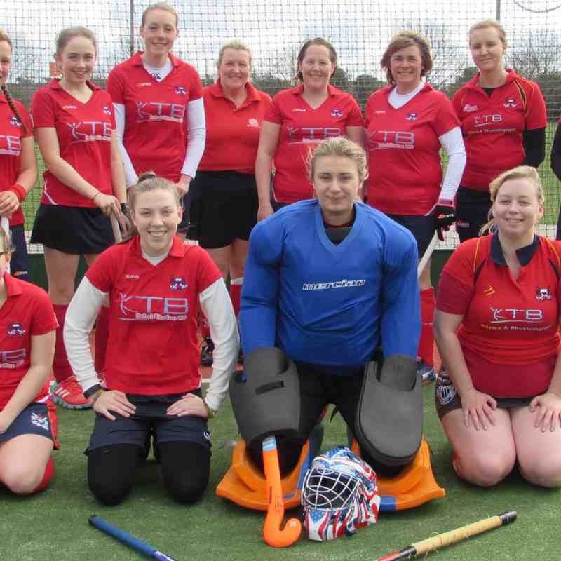Ladies 6s v Gillingham Anchorians 3 - 18 March 2017