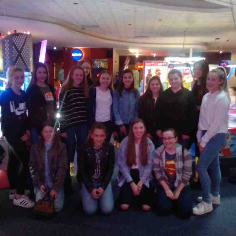 U14/U16s Girls - Georgia's Jack Petchey Bowling Night! (28/4/2017)