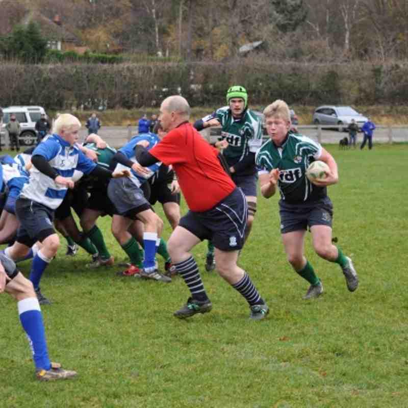 20111204 U16 V Lewes