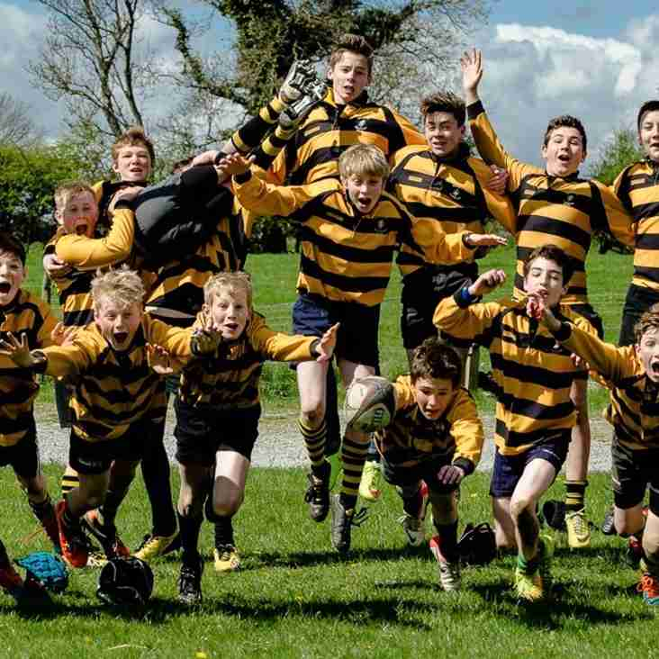 Free Friday touch rugby sessions for 7 to 11-year-olds