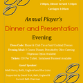 Club Dinner and Summer Ball Dates Announced