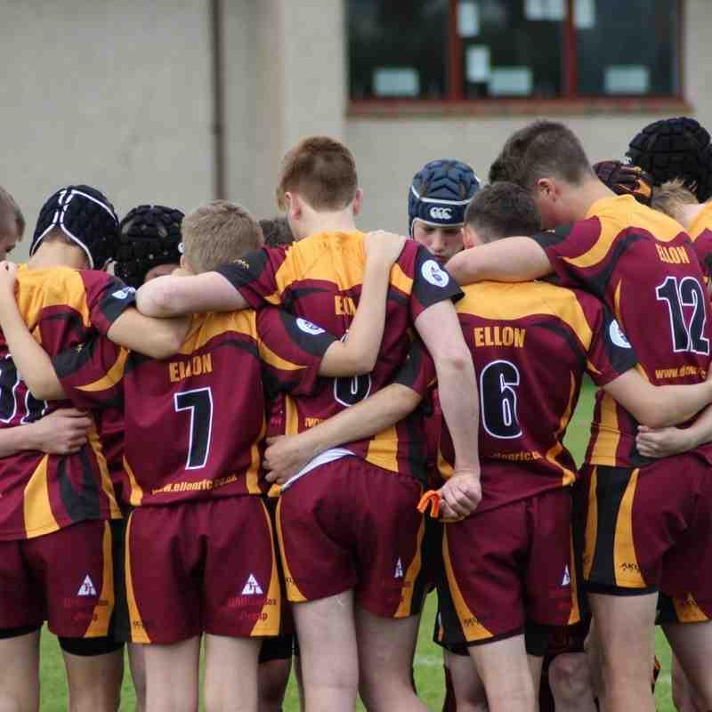 U15 Ellon v Deeside/Aberdeen Wanderers 11/09/16 (photos Lorna Duncan)