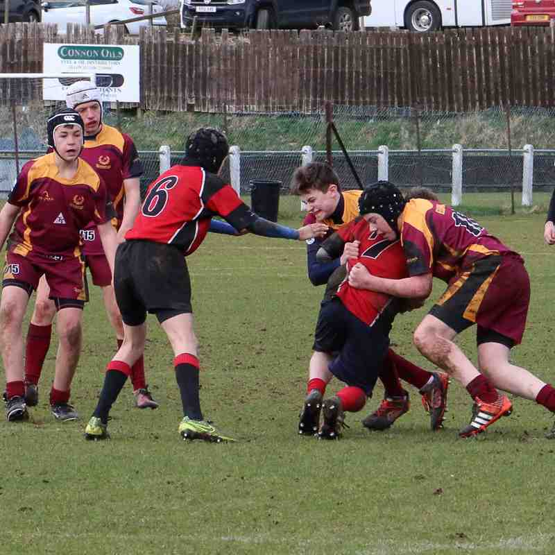 Ellon U15 vs Highland 19/03/2017
