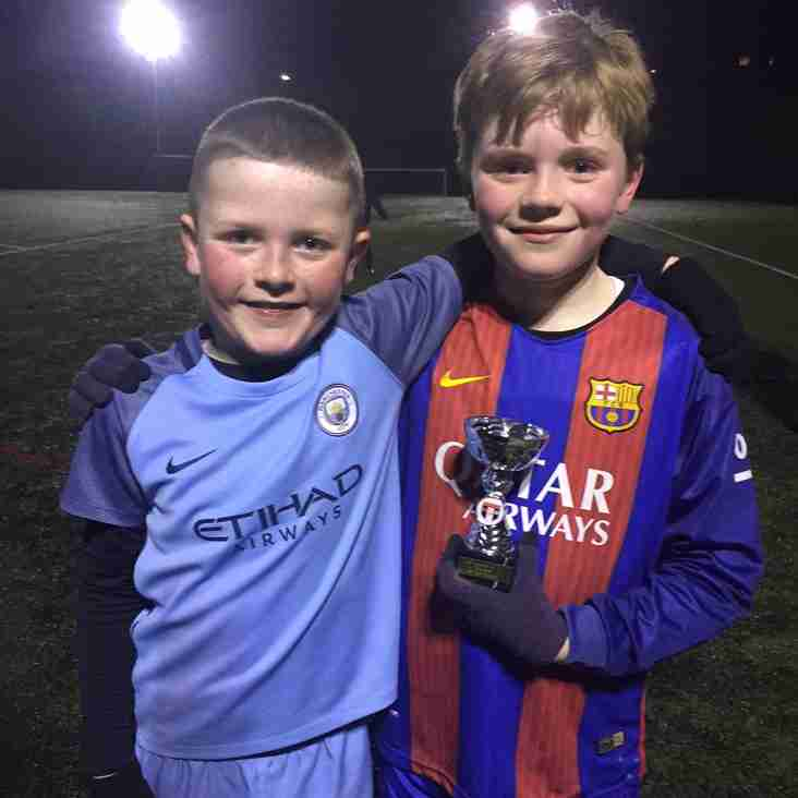 Springhead JFC U9's 2016/17 - Trainee of the Week - 02nd March 2017