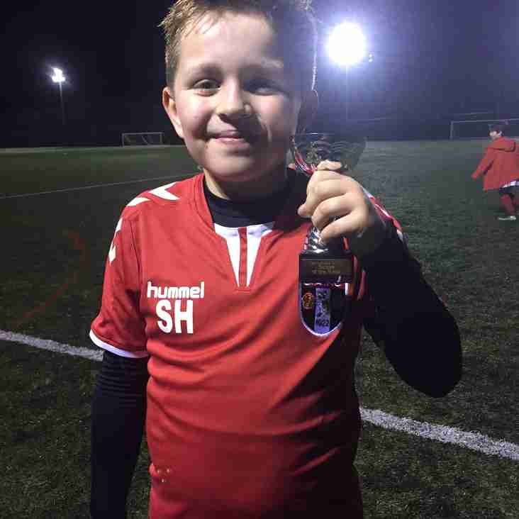 Springhead JFC U9's 2016/17 - Trainee of the Week - 09th March 2017