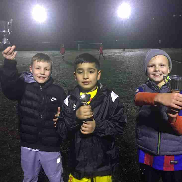 Springhead JFC U9's 2016/17 - Trainee of the Week - 16th March 2017
