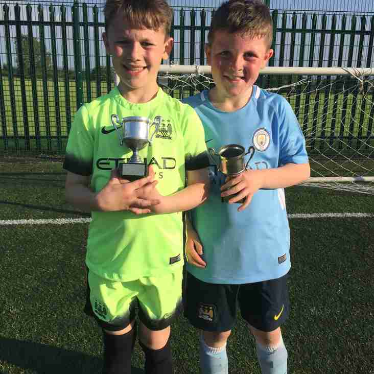 Springhead JFC U9's 2016/17 - Trainee of the Week - 06th July 2017