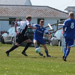 Trearddur Bay United 3 - 0 Barmouth & Dyffryn - League - Saturday 21st April 2018