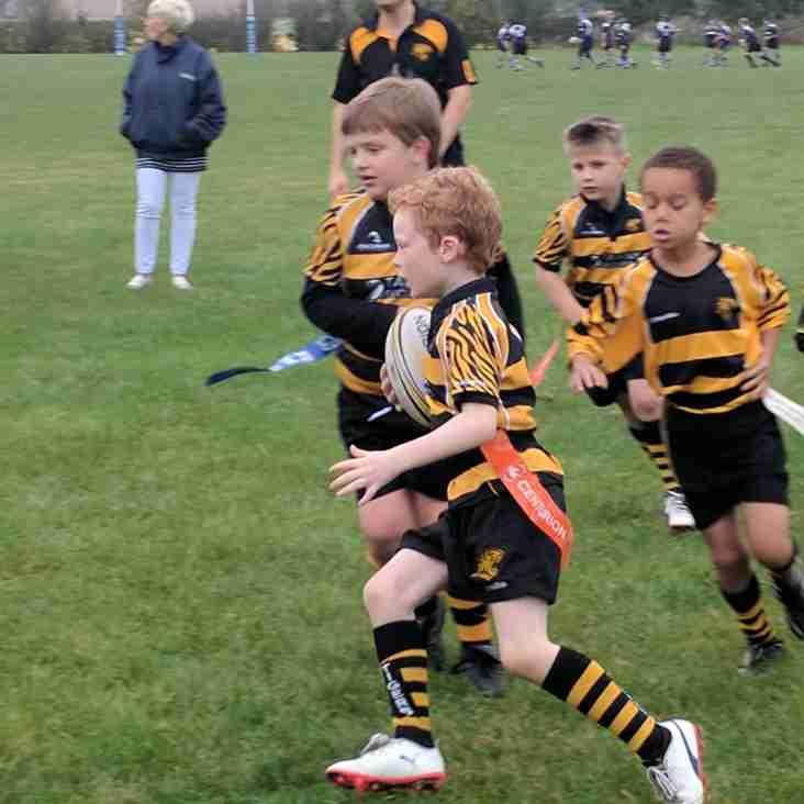 Ely Tigers U7s enjoy first Away trip