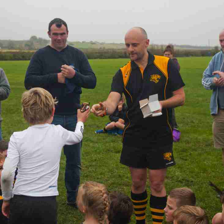 Tigers U8's travel to St Ives