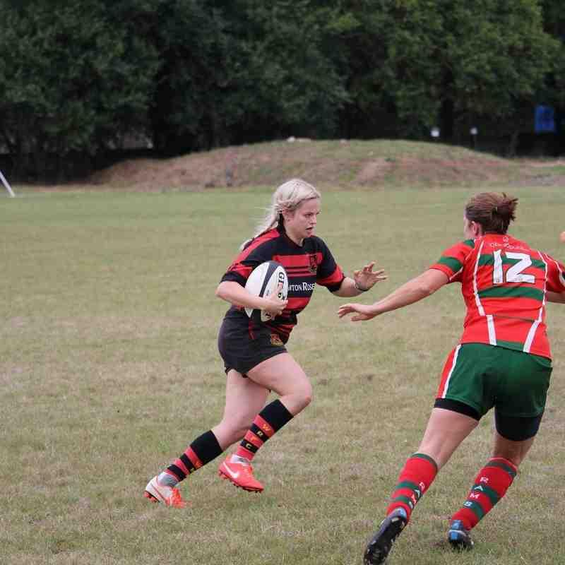Wymondham Wasps vs Harlow 18/09/16
