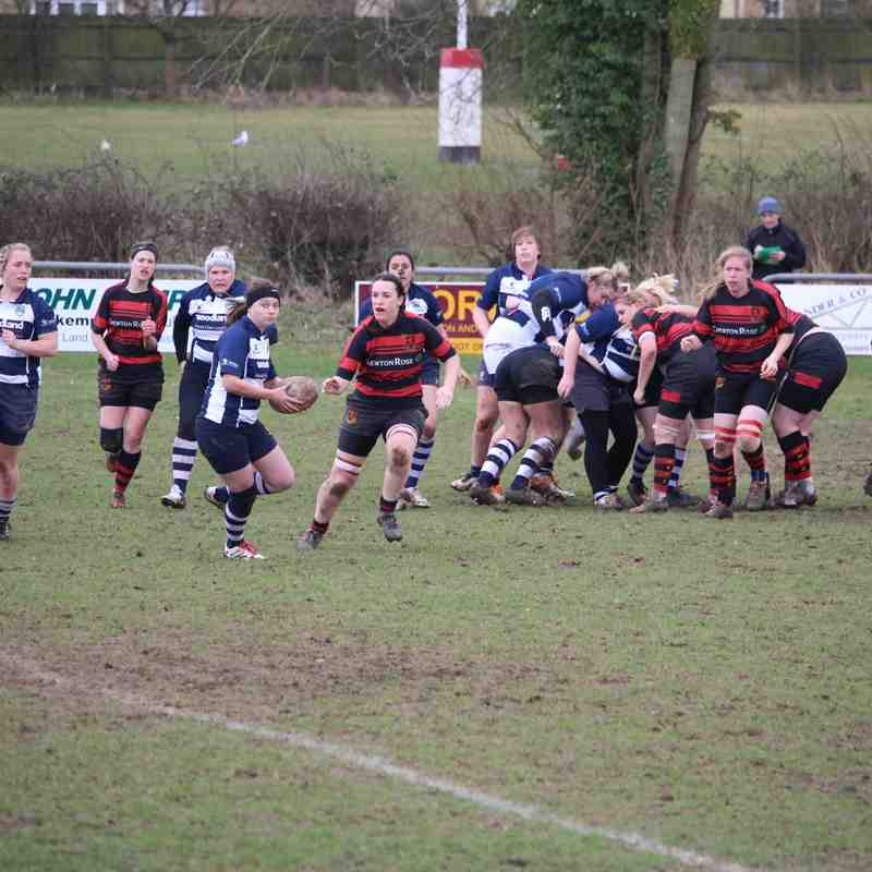 Wymondham Wasps vs Chelmsford 26.02.2017