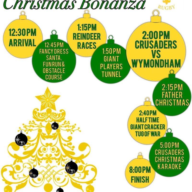 Crusaders Christmas Bonanza