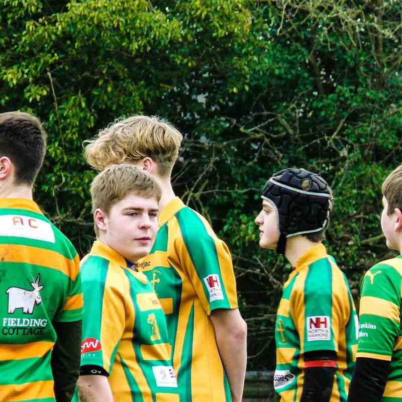 Crusaders U14s Vs West Norfolk U14s