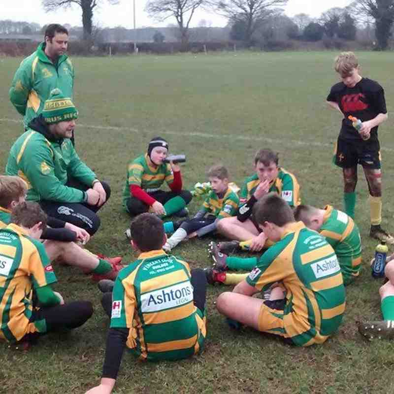 U13s EC Festival at Holt RFC