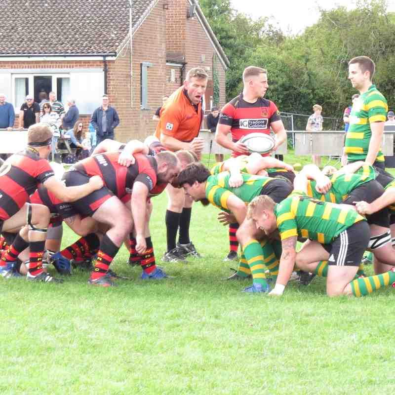 Crusaders vs Wymondham - 15/09/18