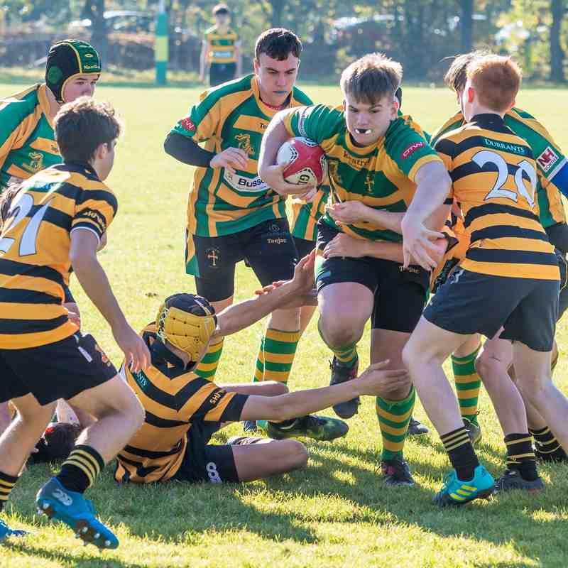 Crusaders U16s vs Southwold U16s
