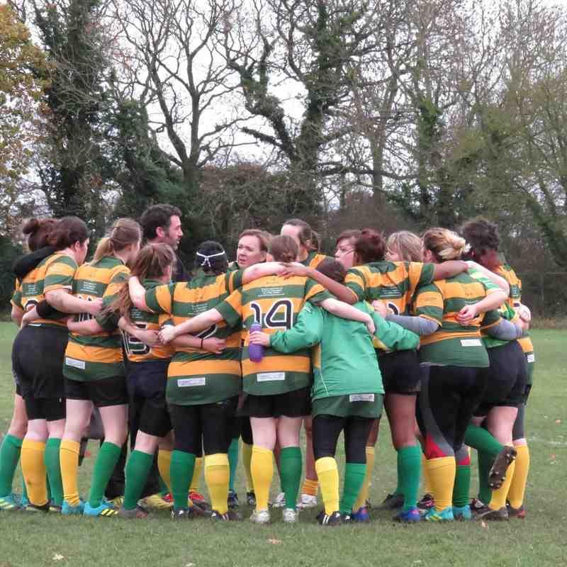 Crusaders Ladies Vs Haverhill Ladies - 02/12/18