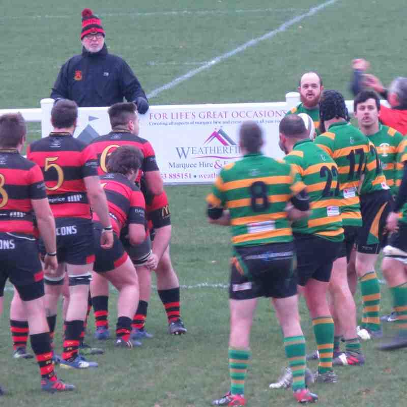 Wymondham vs Crusaders - 15/12/18