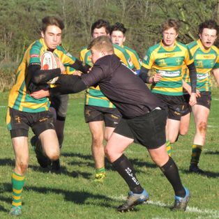 CRUSADERS U16'S FLOURISH IN THEIR NORFOLK CUP GAME WITH HOLT.