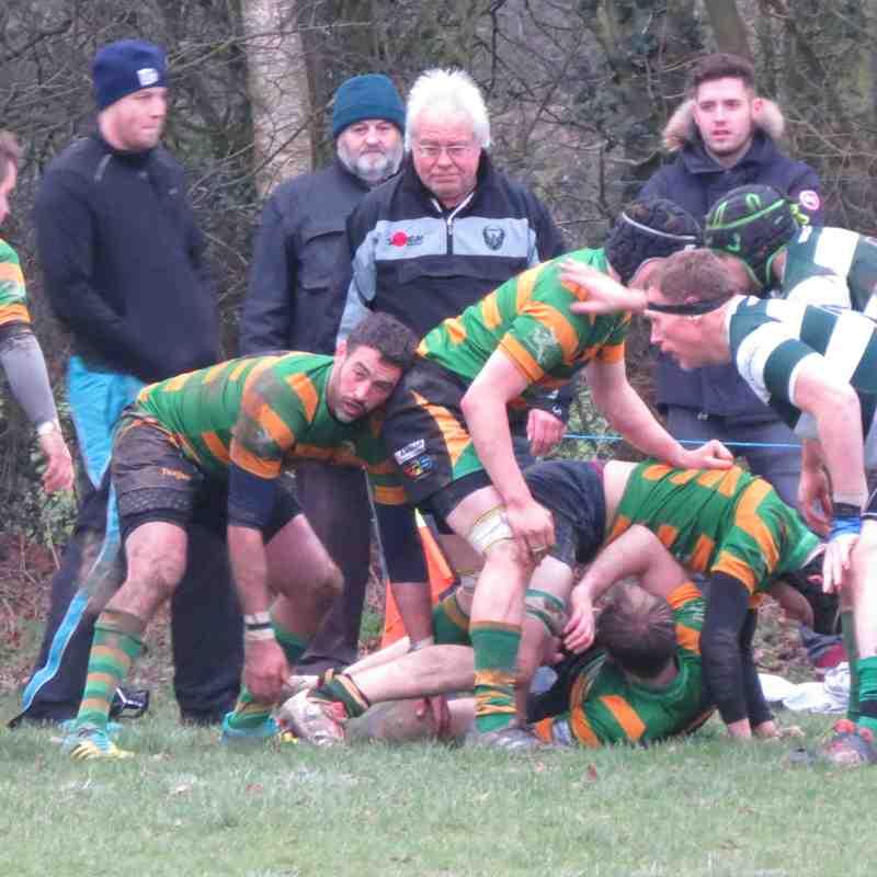 Norwich Union II vs Crusaders II - 05/01/19