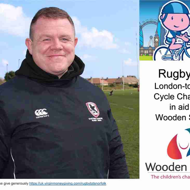 London to Paris cycle challenge in aid of Wooden Spoon