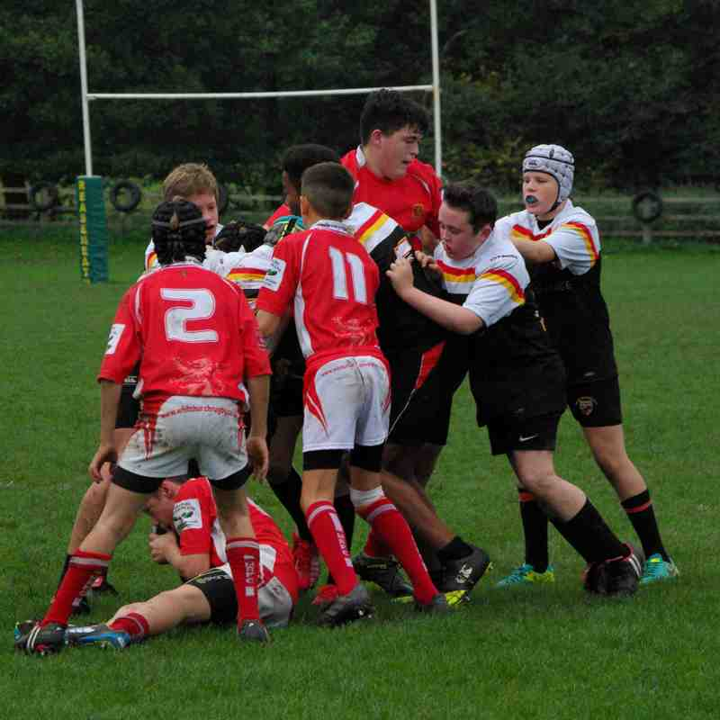 Whitchurch U14 vs Crewe & Nantwich Away 15th October 2017