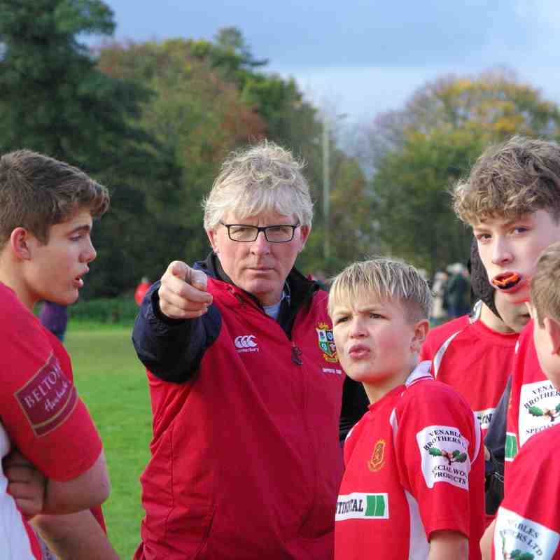 Whitchurch U14 vs Newport 5th November 2017