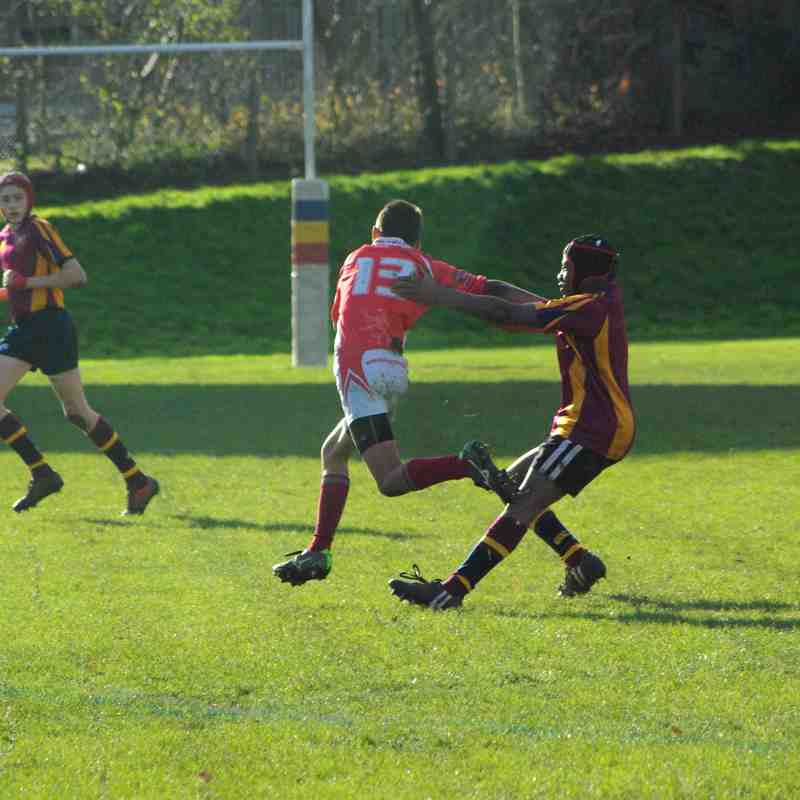 Whitchurch U14 vs Bournville Away 12 November 2017
