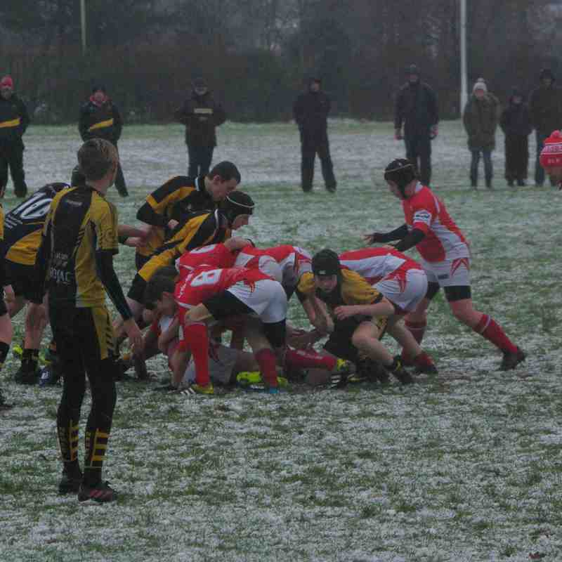 U14's Whitchurch vs Northwich Home 21 January 2018