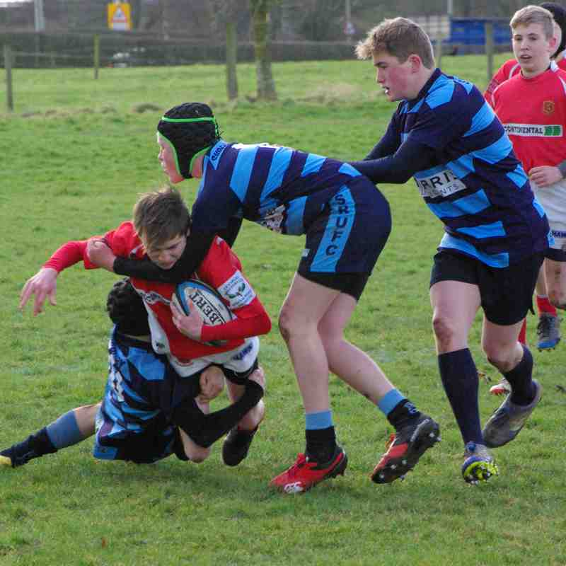 U14's Whitchurch vs Shrewsbury Home 11 February 2018