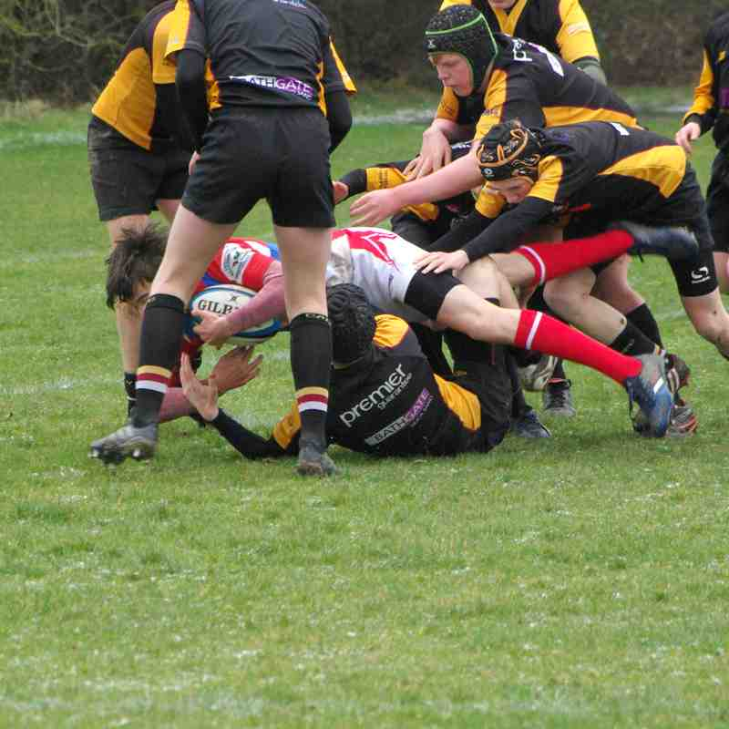 U14's Whitchurch Caldy Tournament vs Caldy 18 March 2018