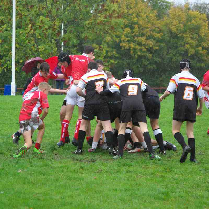 U15's Whitchurch vs Crewe & Nantwich Home 14 October 2018