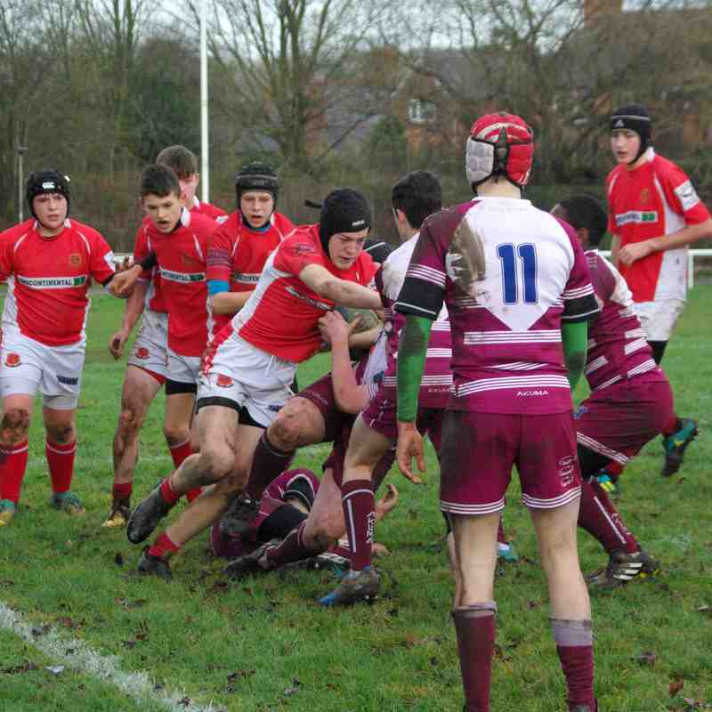 U15's Whitchurch vs Newport Home 16 December 2018