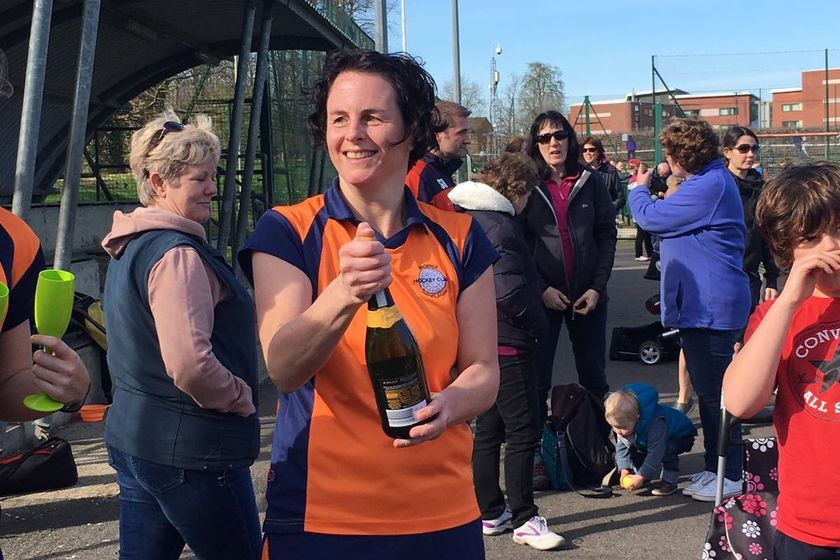 Ladies 2's clinch promotion!!!
