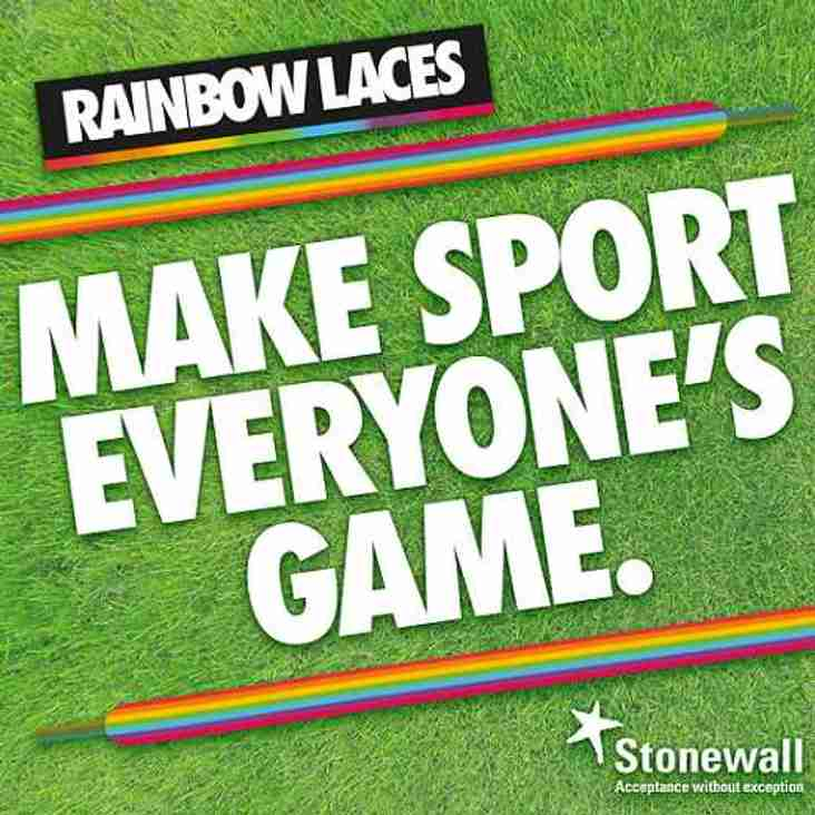 P&R supports Stonewall's Rainbow Lace campaign