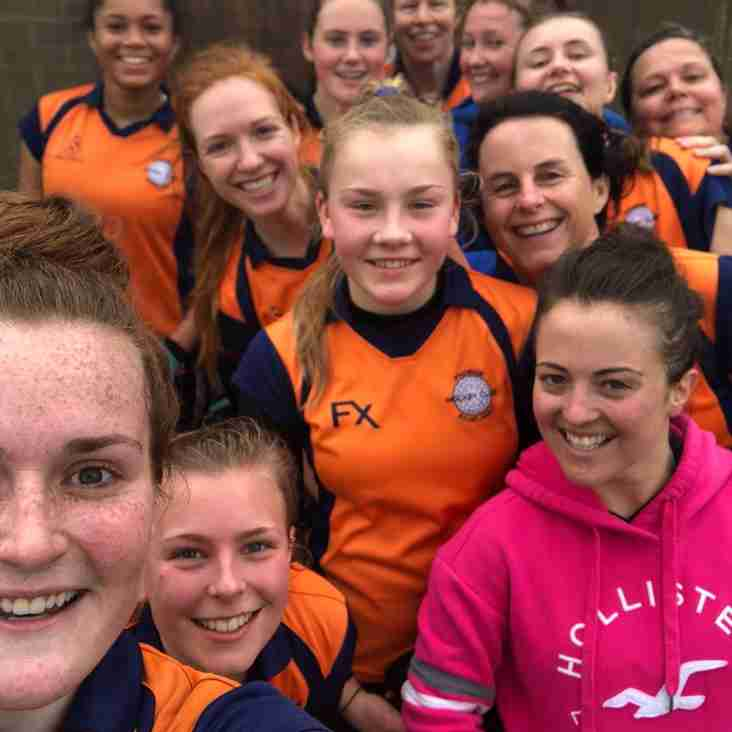 Ladies training extended to 4th April