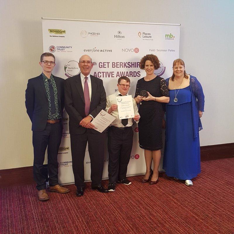 Adrienne Hardy wins Volunteer of the Year award