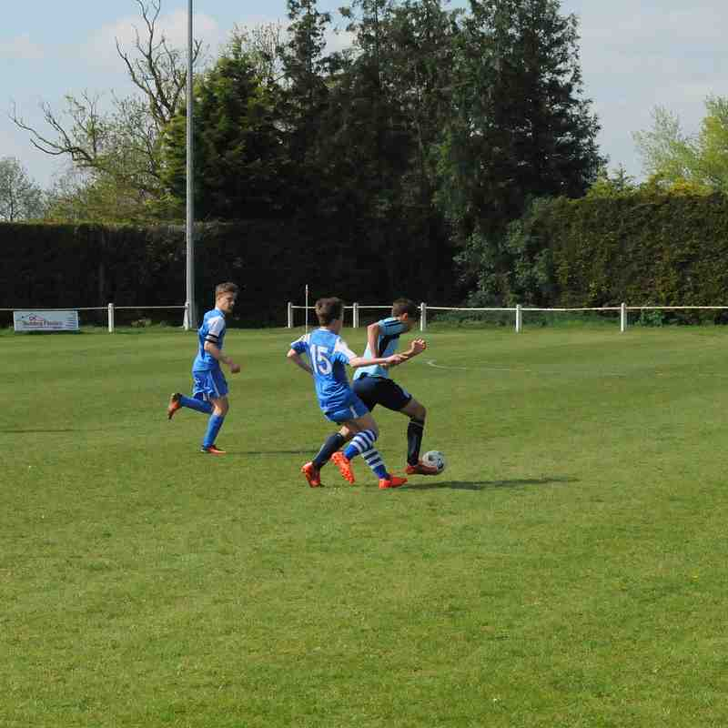 Bloxham Under 14s Cup Final Victory