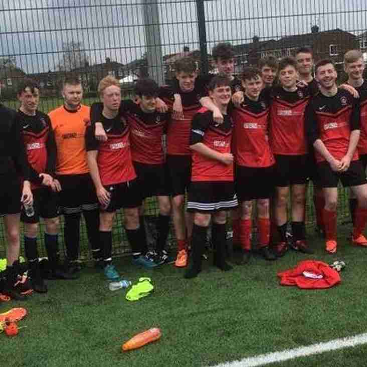 Under 18s hang up their boots.