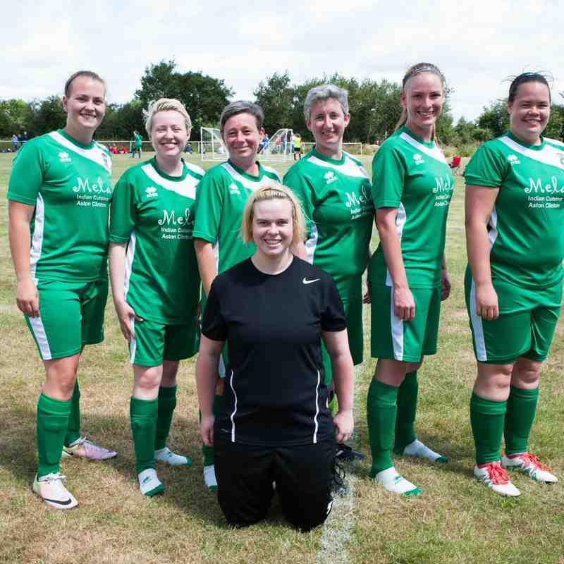 Ladies at Launton 5-a-side Tournament 2017