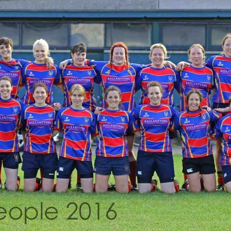 Ladies team 2016