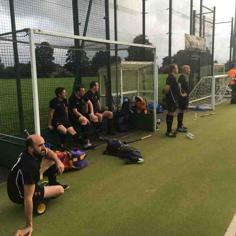 Mens 1s v DHC Former Players - Fri  9 Sep 2016