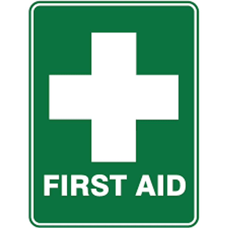 First Aid Course Saturday 12th March