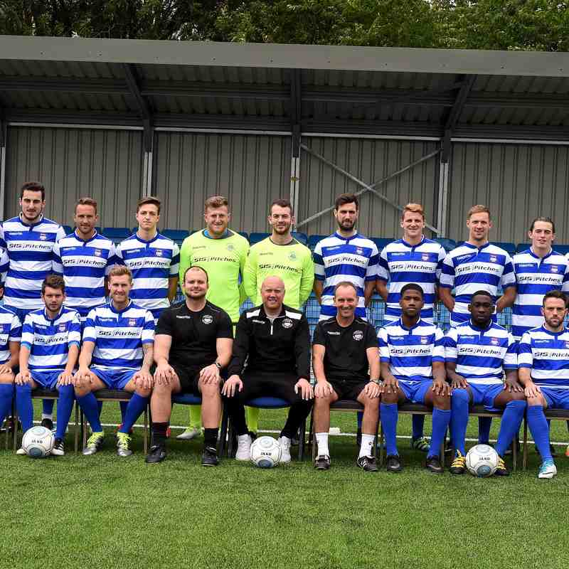 1st Team Photograph 2017/18