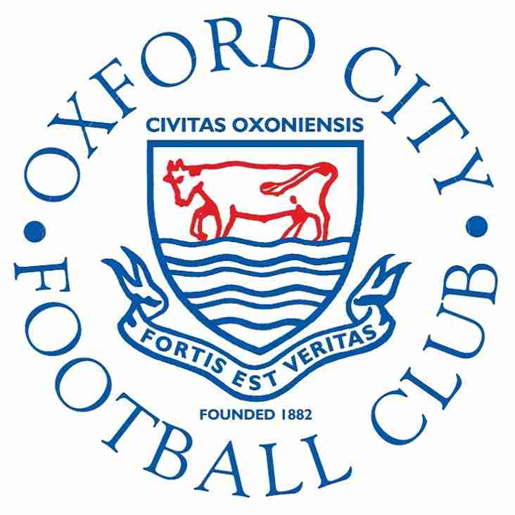 Oxford City Youth Trials 2018/19