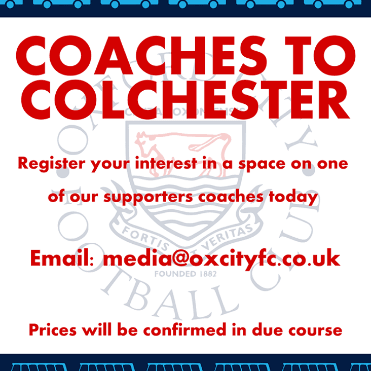 SUPPORTERS COACHES - Colchester (A)
