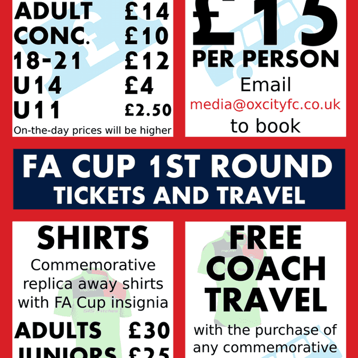 Further Details - FA Cup - Colchester (A)