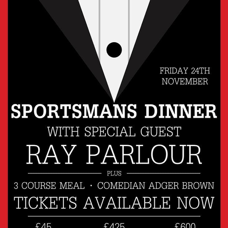 Sportsman's Dinner - Friday 24th November